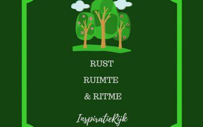 Rust, Ruimte en Ritme