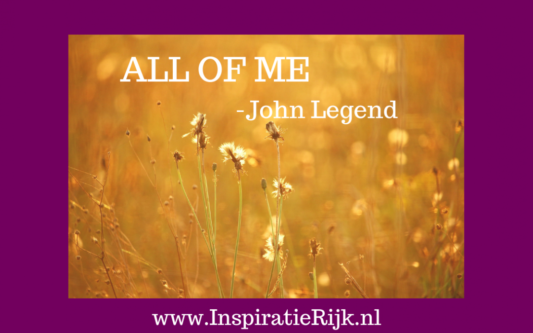 All of me – John Legend